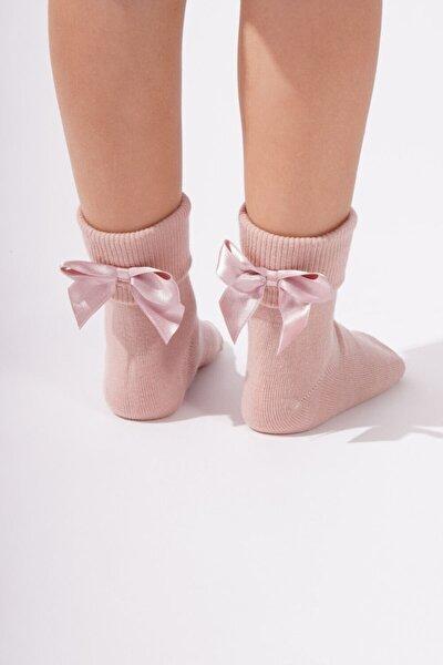 Newyork Çocuk Soket Çorap - Gül Pembe