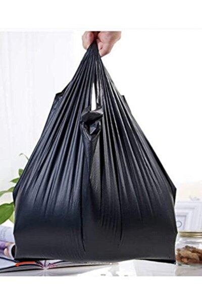 Siyah Büyük Boy Çöp Poşeti 1kg