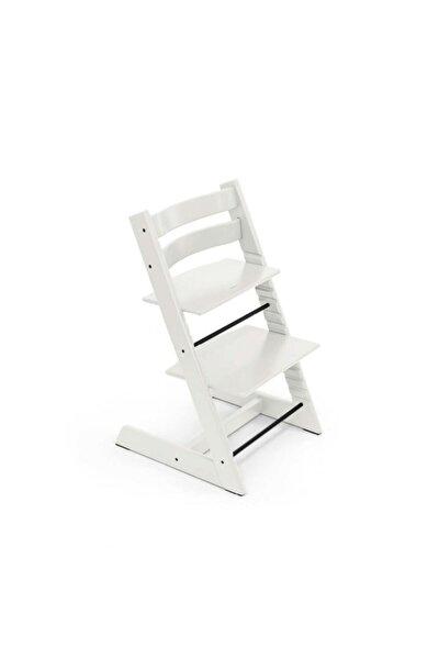 Tripp Trapp Ahşap Mama Sandalyesi Beyaz