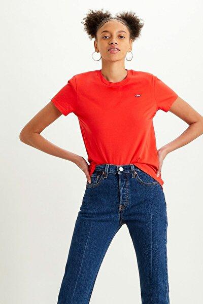 Kadın T-Shirt Kırmızı