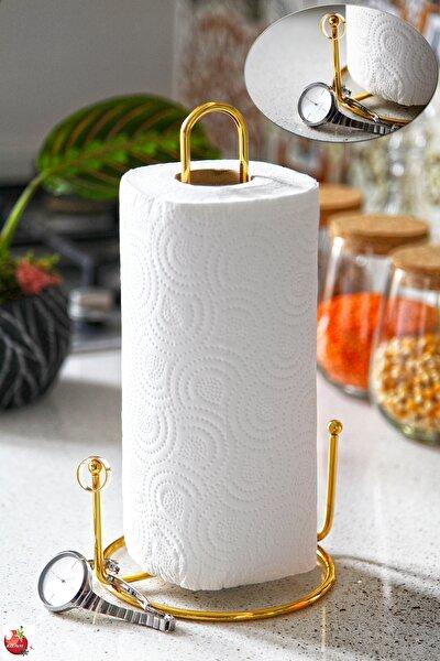 Altın Kaplama Dik Gold Havluluk - Takı Askılıklı