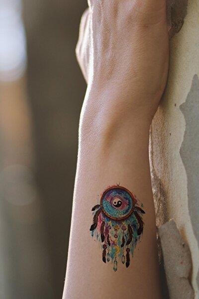 Ying Yang Mini Geçici Dövme Tattoo