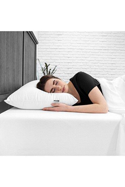 Beyaz Silikon Pamuklu Yastık 800 gr
