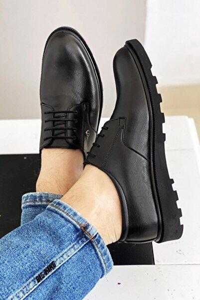 Siyah Erkek Klasik Ayakkabı
