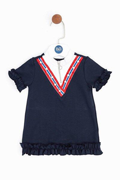 Kız Bebek Mavi Elbise