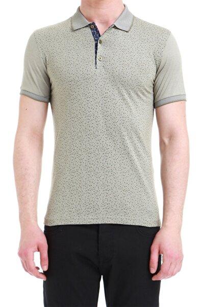 Ts 736 Slim Fit Haki Spor T-shirt