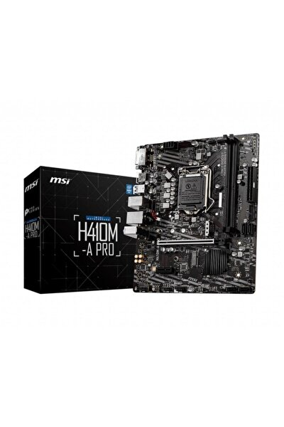 H410m-a Pro Lga1200 Intel H410 Anakart