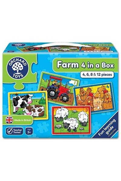 Toys Çiftlik 4 Puzzle Bir Arada 3 Yaş +