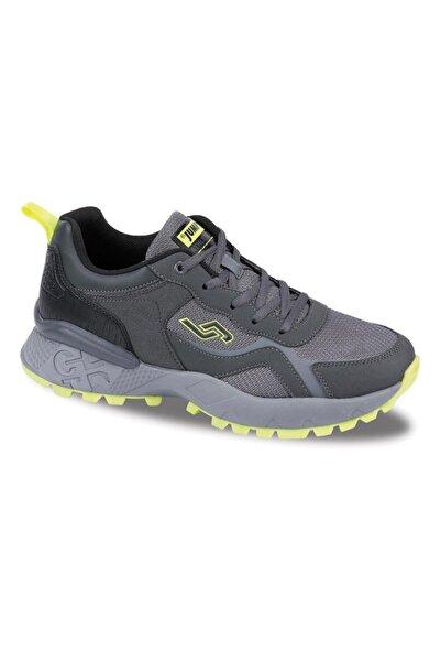 Erkek Gri Neon Comfort Casual Outdoor Spor Ayakkabısı 25519
