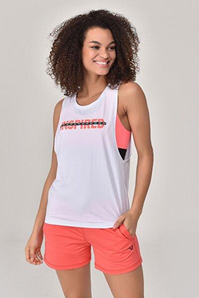 Kadın Beyaz Atlet  GS-8611
