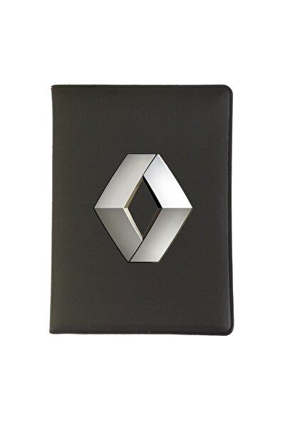 Renault Logolu Ruhsat Kabı Uv Baskı
