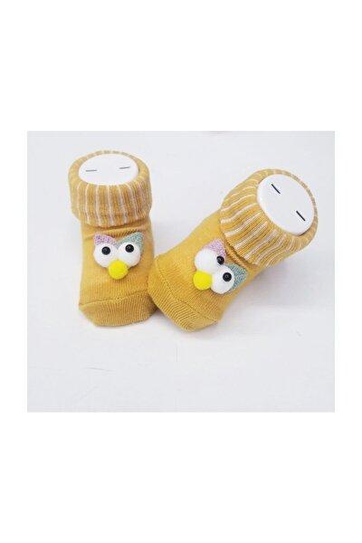 Şaşkın Kuş Bebek Çorap
