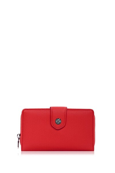 Kadın Kırmızı Cüzdan Portföy 65231m