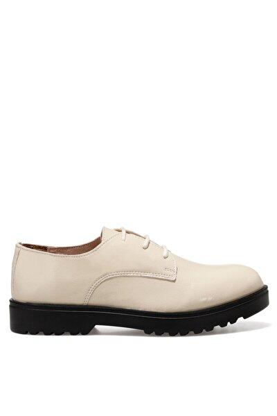 ZETTE Beyaz Kadın Oxford Ayakkabı 100572315