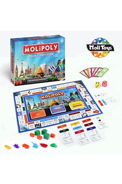 Emlak Ticaret Oyunu Molipoly Monopoly Monopoli Metropol Mega City Aile Oyunu Yeni Model