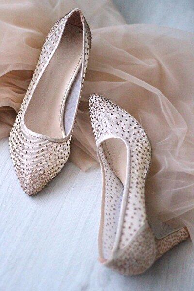 Kadın Topuklu Abiye Ayakkabı