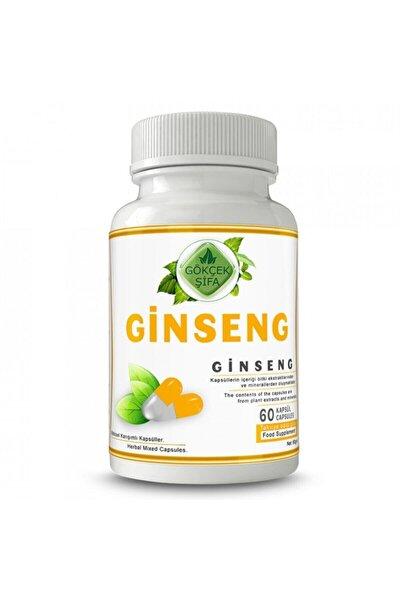 Ginseng Kapsül 60 Bitkisel Kapsül (1000 Mg