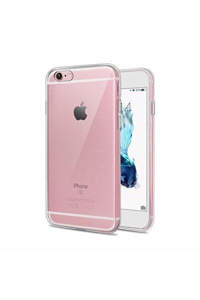 Iphone 6 6s Uyumlu Şeffaf Tıpalı Premium Silikon Kılıf