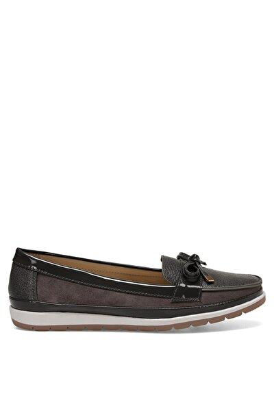 BELTEN Gri Kadın Loafer Ayakkabı 100524776