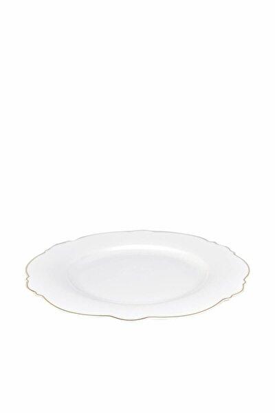 Romantic Servis Tabağı Beyaz