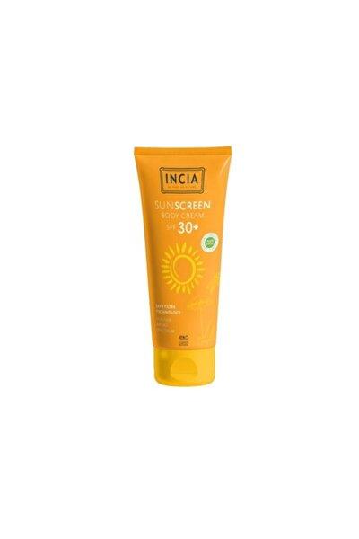 Incıa Vücut Için %100 Doğal Güneş Kremi 30 Spf 100 ml