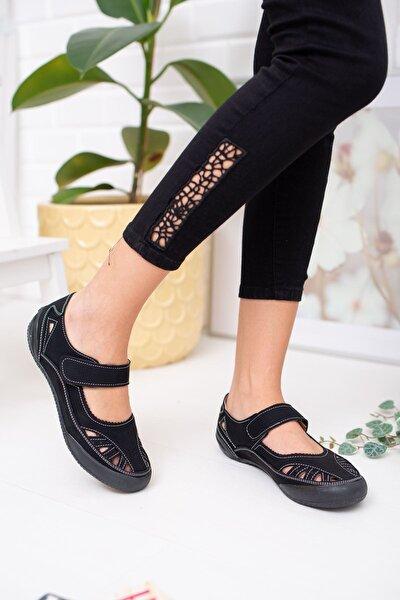 Ortapedik Ped Vizon Kot Kadın Ayakkabı