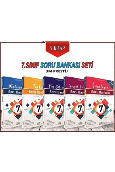 7.sınıf Soru Bankası Seti 5 Kitap