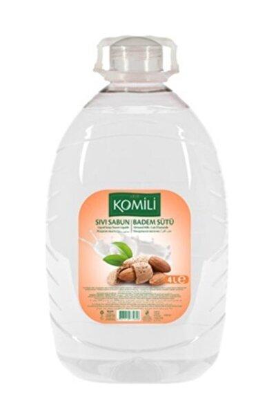 Sıvı Sabun Badem Sütü 4 Lt