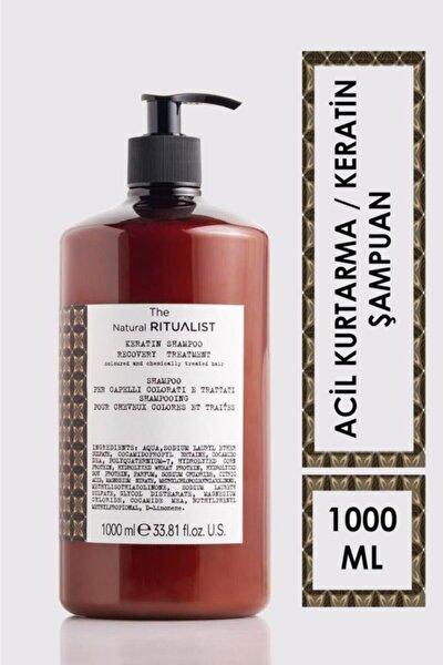Keratin Işlem Görmüş Ve Yıpranmış Saçlar Için Acil Kurtarma Şampuanı 1000 ml