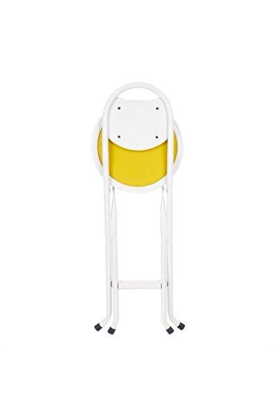 Beyaz Katlanır Portatif Sandalye