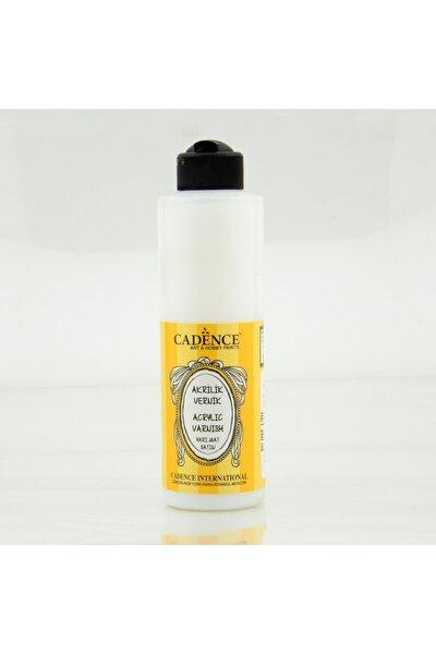 Yarı Mat Su Bazlı Vernik 250 ml