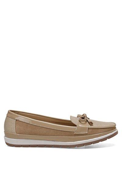 BELTEN Bej Kadın Loafer Ayakkabı 100524775
