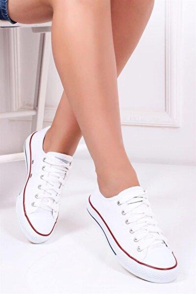 Beyaz Kadın Sneaker Dp23-0202