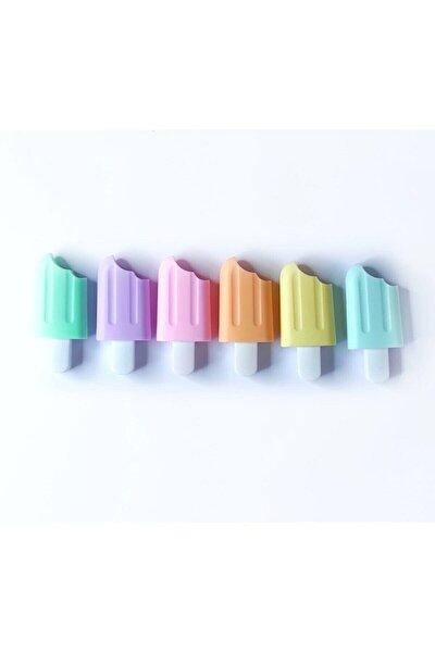 Mini Fosforlu Kalem 6 Lı