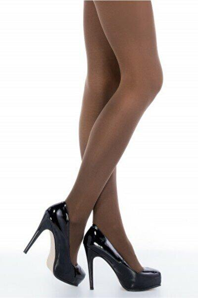 Kadın Kakao Cotton Külotlu Çorap