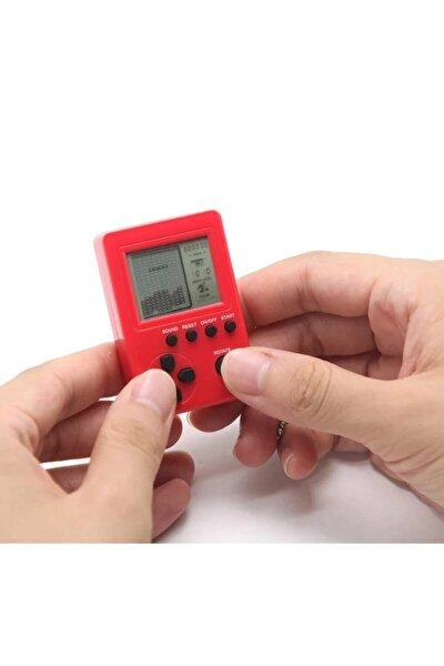 Mini Atari Anahtarlık Çocuk Oyuncak Tetris El Nostaljik Anahtarlık