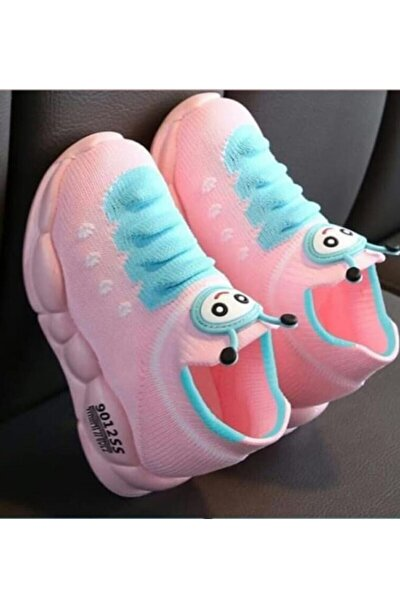 Çocuk Pembe Ortopedik Hafif Yumuşak Ayakkabı