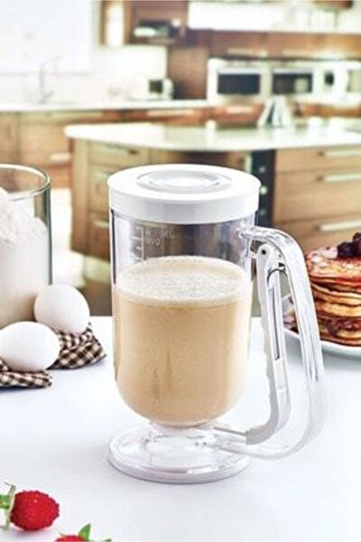 Pratik Pancake,krep,muffin Akıtma Kabı (hamur Dağıtıcı)