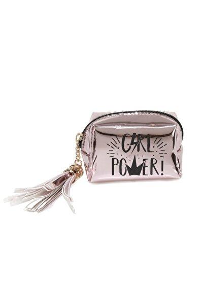 AYNALI GIRL POWER 1FX Pembe Kadın Bozuk Para Cüzdanı 101011975