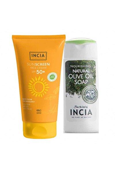 Sun Screen Face Cream Spf 50 50 ml + El Vücut Sabunu 50 ml