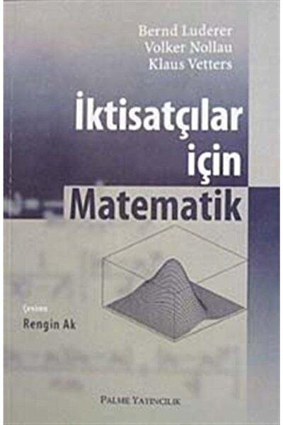 Iktisatçılar Için Matematik