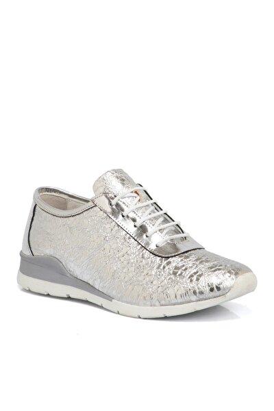 Lame Deri Kadın Ayakkabı 64244a33