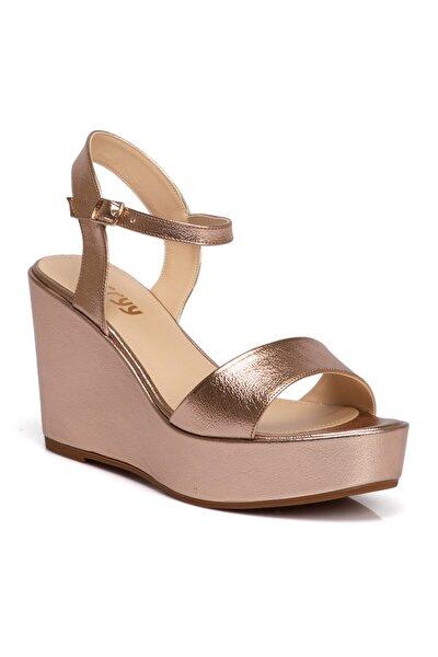 Pembe Vegan Kadın Sandalet 210011n6n