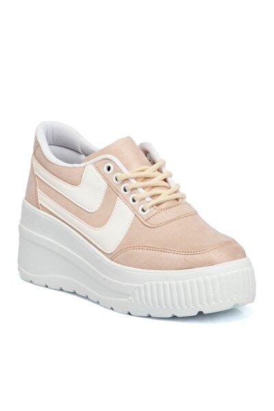 Bej Vegan Kadın Ayakkabı 210103d67
