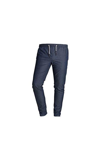 Erkek Alberta Uzay Mavi Pantolon