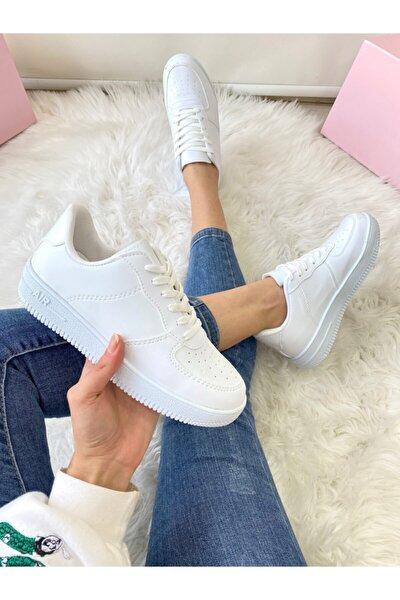 Unısex Beyaz Sneaker