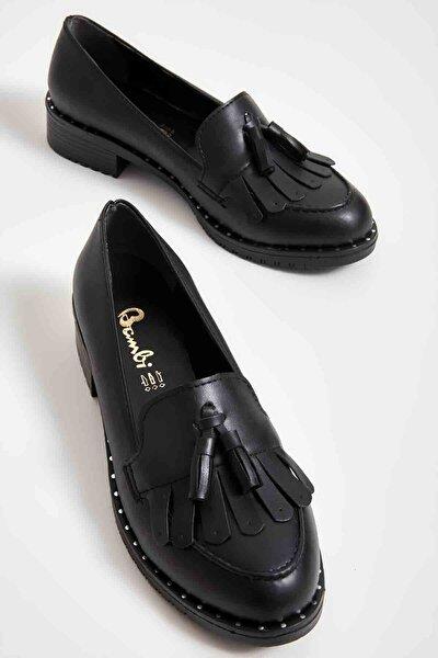 Siyah Kadın Loafer Ayakkabı M07782345