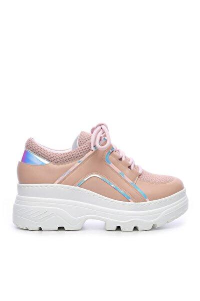Kadın Tekstıl/vegan Sneakers & Spor Ayakkabı 689 301 Rg Bn Ayk Y19