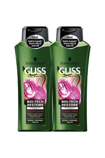 Bio-tech Güçlendirici Şampuan 525 ml X 2 Adet