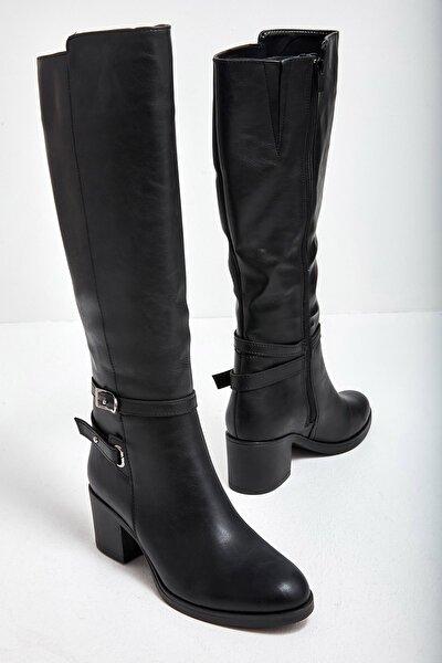 Siyah Kadın Çizme M0538480009